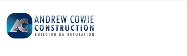 logotype andrew cowie construction