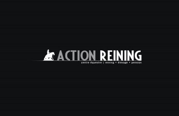 1 action reining logotype creation logo -