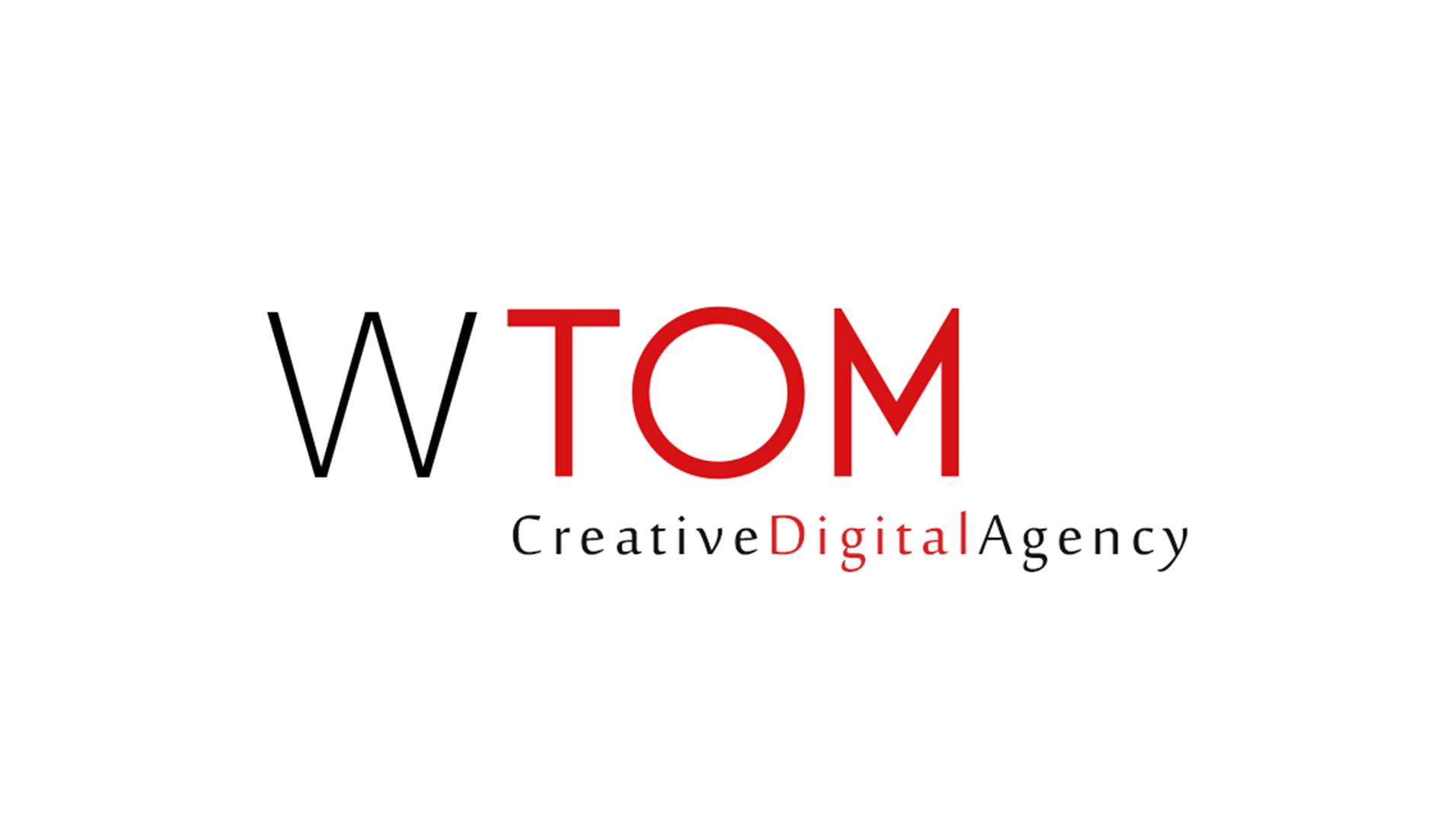 1 WTOM Agency logo backside pixels