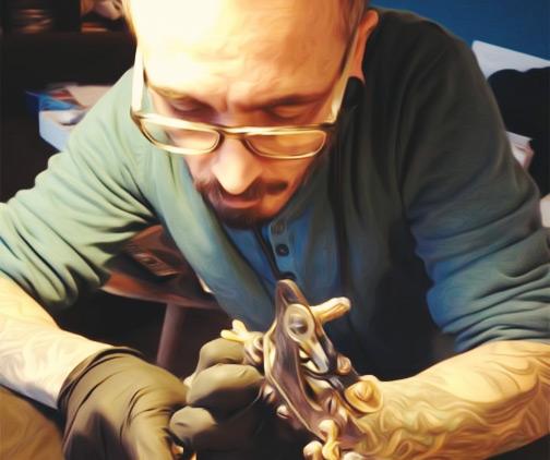 lucien capsman tatouage