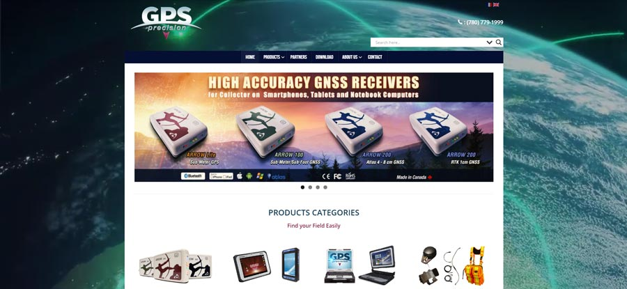 creation website GPS Precision