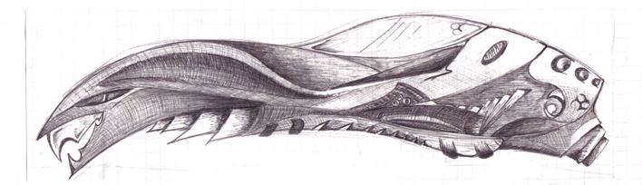 snake-spaceship