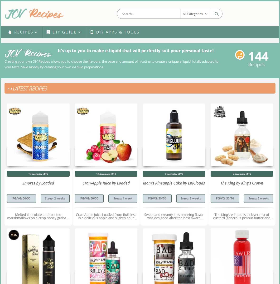 jcv-recipes-site